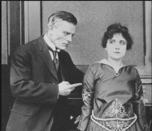 Chaney and Dorothy Philips in The Price of Silence (1916)