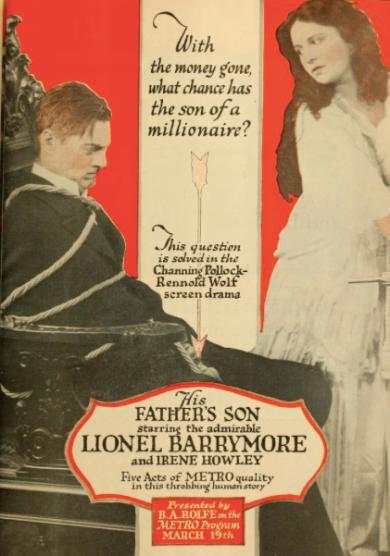 Trade ad, 1917