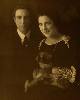 Lou Tellegen and his wife, Geraldine Farrar