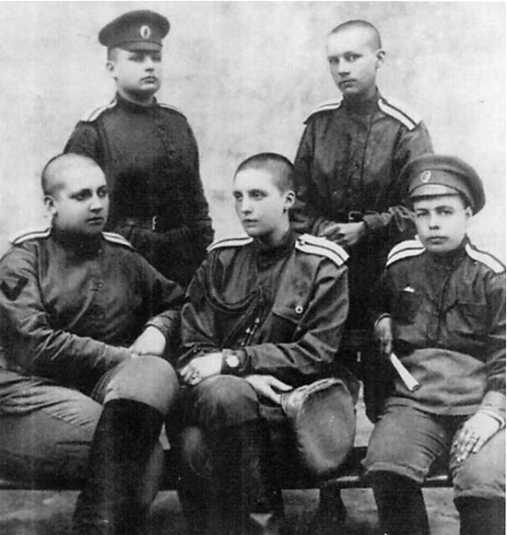 Members of the Battalion of Death