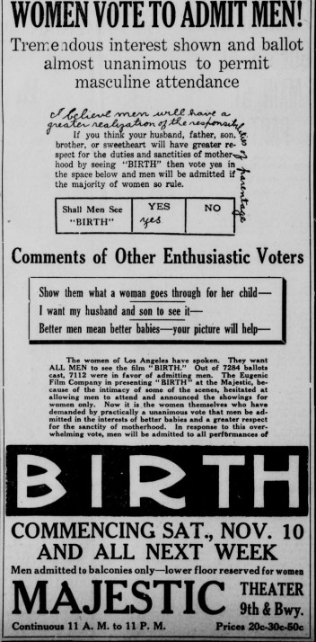 Los Angeles Herald, November 10, 1917
