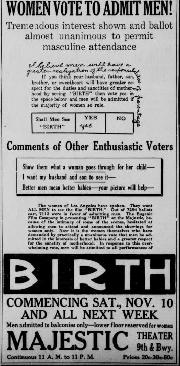 Los Angeles Herald, November 10, 1917