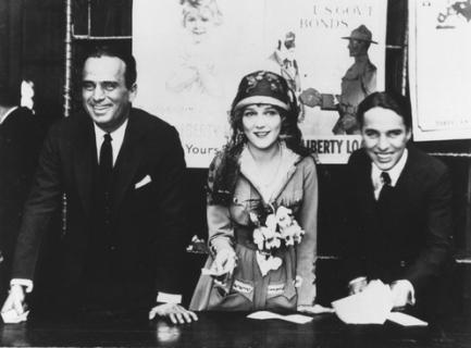 Fairbanks, Pickford, Chaplin