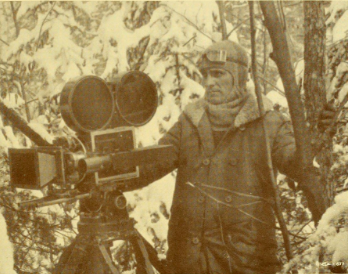 Miller on a different snowy location, 1930