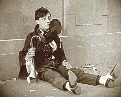 ...but not for long (The Saphead, 1920)