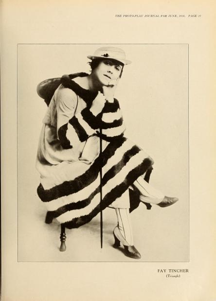 Fay Tincher, 1916