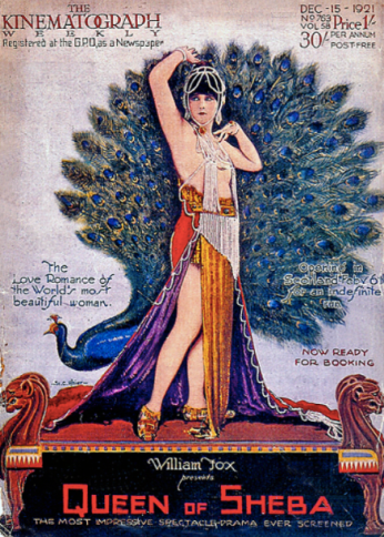 Her design for Queen of Sheba
