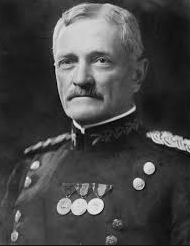 General John J. Pershing, commander of the American Expeditionary Forces