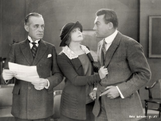 Robert McKim, Myrtle Steadman and Clurtis Cooksey
