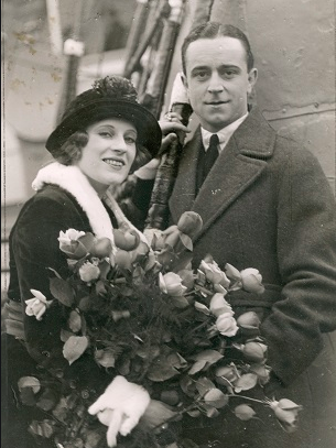 Marie Walcamp and Harland Tucker